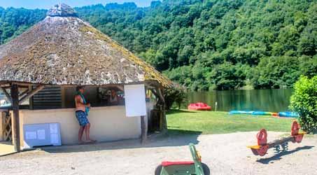 Camping avec bar en Corrèze