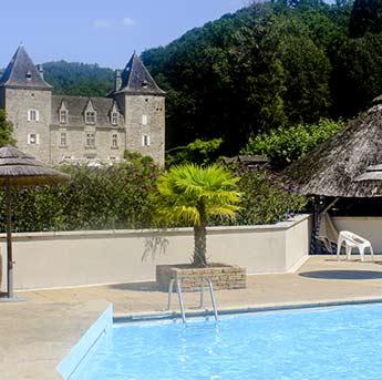 Camping Corrèze piscine