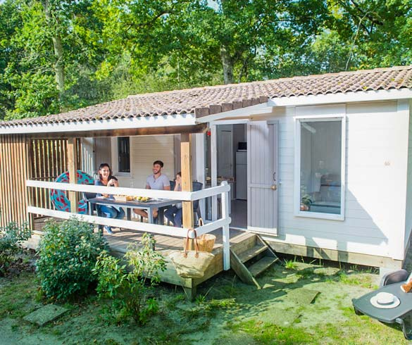 camping location mobil-home 3 chambres dordogne