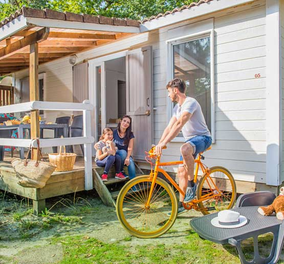 location chalet 2ch camping correze