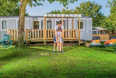location mobil-home privilège camping corrèze