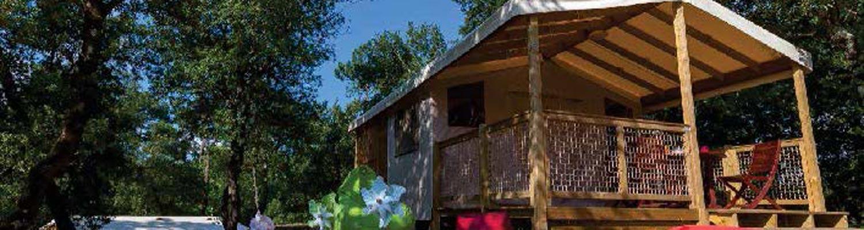 location lodge camping dordogne