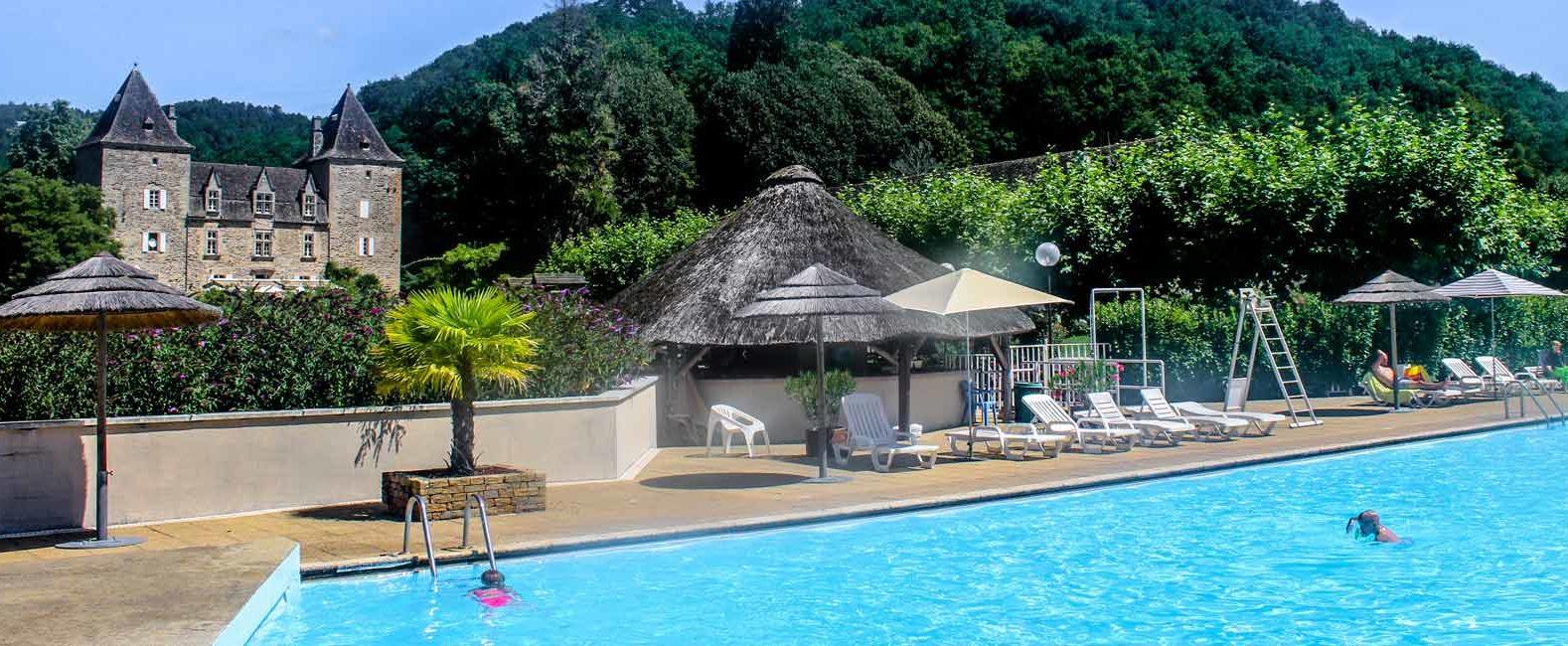 camping avec piscine Correze