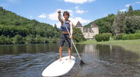 activités sur le lac camping Dordogne