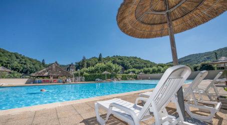 piscine chauffée camping Dordogne