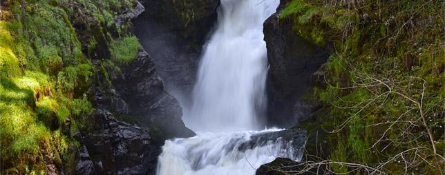 Les cascades de Gimel-les-Cascades