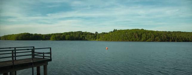 Lac de la Triouzoune, à Liginiac et Neuvic