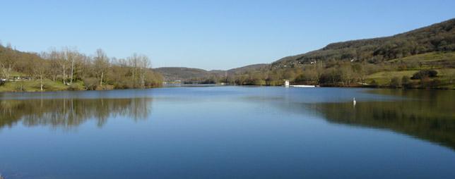 Lac du Causse Corrézien à Lissac-sur-Couze