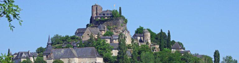 Les plus beaux châteaux en Corrèze
